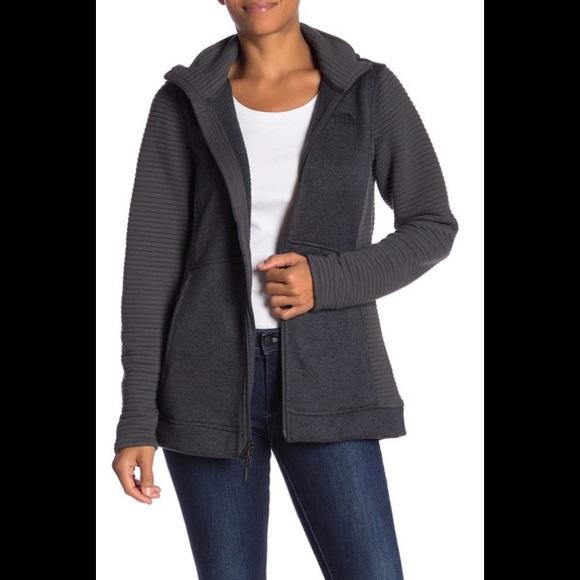ef045ef5d The north face Indi parka jacket zipper black